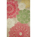 "Lace Tiles Transitional Area Rug (3'5"" x 5'5"")"