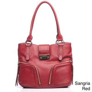Franco Sarto Clara Leather Tote Bag