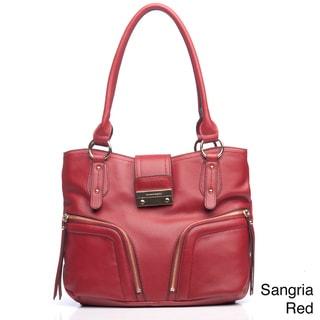 Franco Sarto Clara Leather Tote Bag