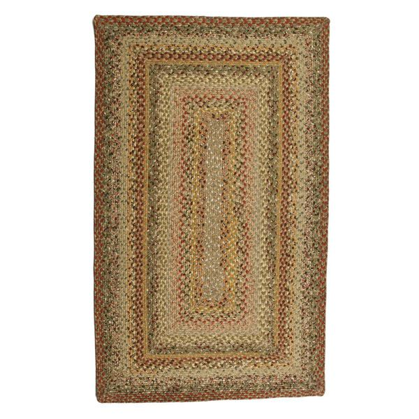 Autumn Cotton Braided Rug (6' x 9')