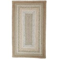 Bedrock Cotton Braided Rug (2'3 x 3'9)