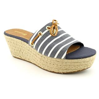Sperry Top Sider Women's 'Hillsboro' Basic Textile Sandals (Size 9.5)