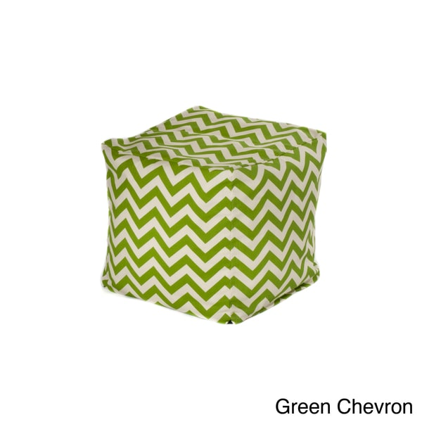 Chevron Outdoor Beanbag Cube