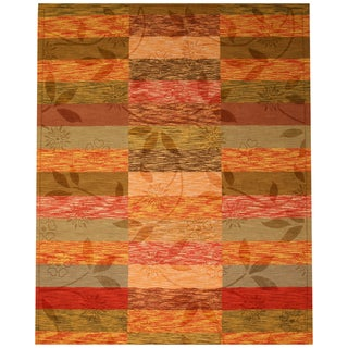 EORC Hand Tufted Wool Rustica Rug (7'9 x 9'9)
