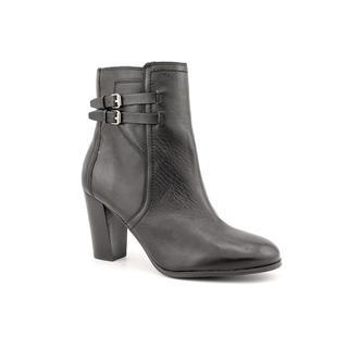 Marc Fisher Women's 'Kattie' Black Leather Boots