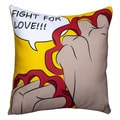 Maxwell Dickson Fight for Love Throw Pillow
