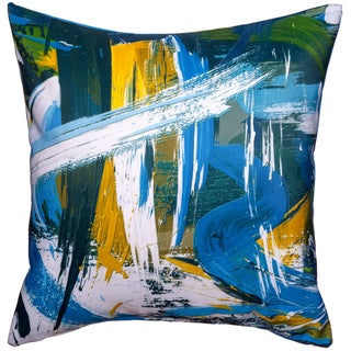 Maxwell Dickson Rushing River Throw Pillow