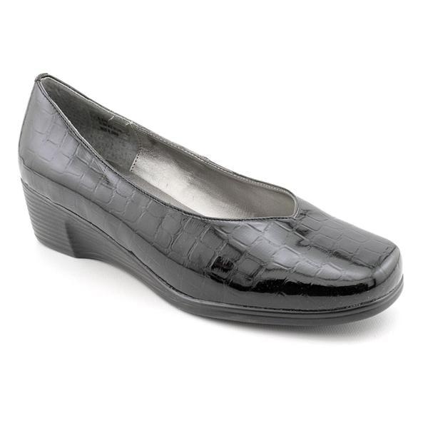 Andiamo Women's 'World' Patent Casual Shoes - Wide