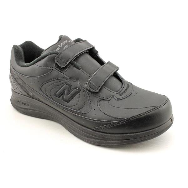 new balance s velcro walking shoe leather