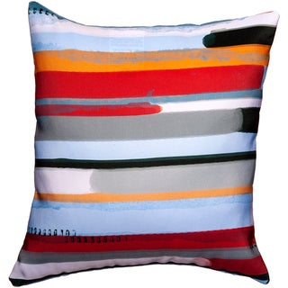 Maxwell Dickson 17.25 x 17.25-inch Stream Throw Pillow