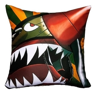 Maxwell Dickson Warhawk Throw Pillow