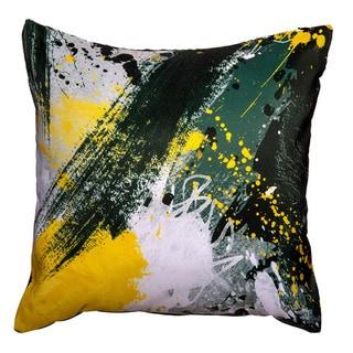 Maxwell Dickson Yellow Jacket Throw Pillow