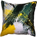 Maxwell Dickson Yellow Jacket Throw Pillow