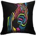Maxwell Dickson Zebra Stripes Throw Pillow