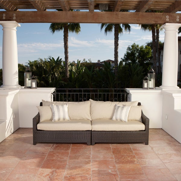 RST Brands Slate Patio Sofa