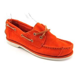 Timberland Boy's 'Deck Boat' Kid Suede Casual Shoes