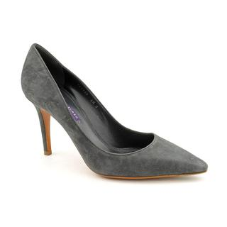 Ralph Lauren Women's 'Elsina' Kid Suede Dress Shoes