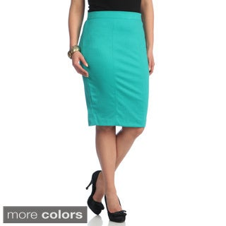 Kiyonna Women's Plus 'Priscilla' Knit Pencil Skirt