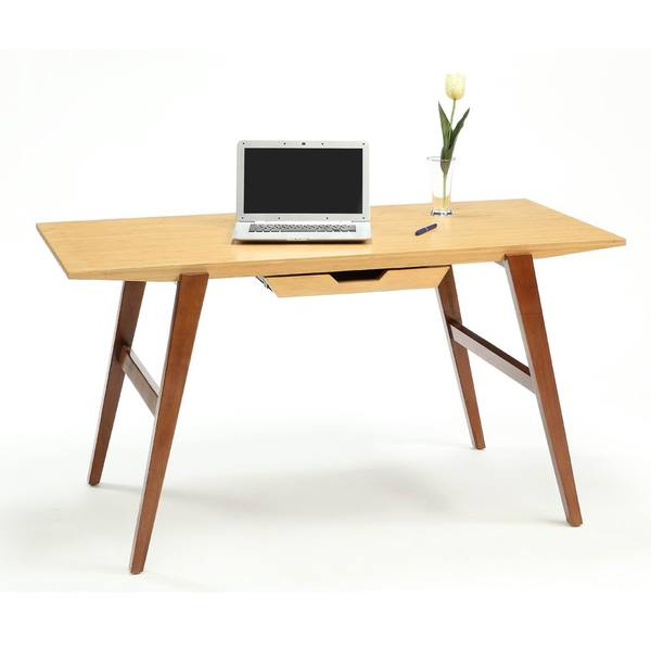 Chai Desk with Wood Legs