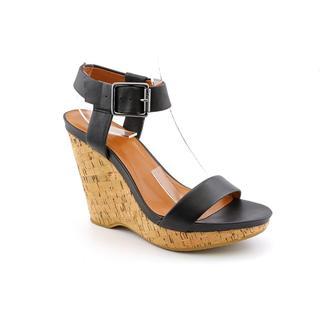 Calvin Klein Women's 'Nikole' Leather Sandals