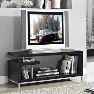 Black 45-inch Plasma TV LCD Stand/ Media Console