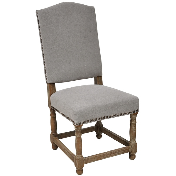 Redford Dining Chair - Stone Wash Light Grey