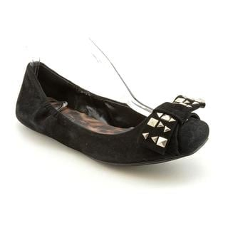 Jessica Simpson Women's 'Lafayette' Regular Black Suede Casual Shoes