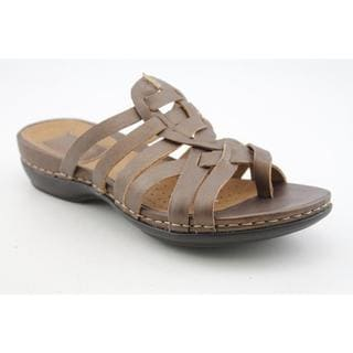 Clarks Artisan Women's 'Sennett Melody' Leather Sandals - Wide