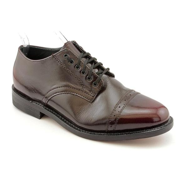 Executive Imperials Men's 'Dress Oxford' Leather Dress Shoes - Extra Wide (Size 8)