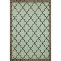Clay Tile Outdoor Rug (5' x 7'6)