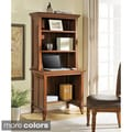 Altra Amelia Desk with Hutch Bookcase