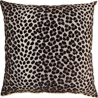 Panther Ebony 26-inch Floor Pillow