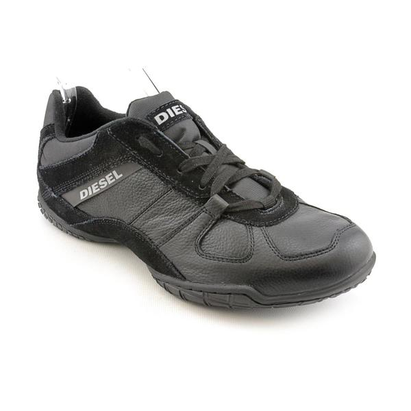 Diesel Men's 'Sport Victim Chilly' Leather Athletic Shoe