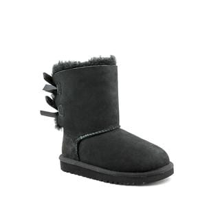 Ugg Australia Girl's 'Bailey Bow' Regular Suede Boots