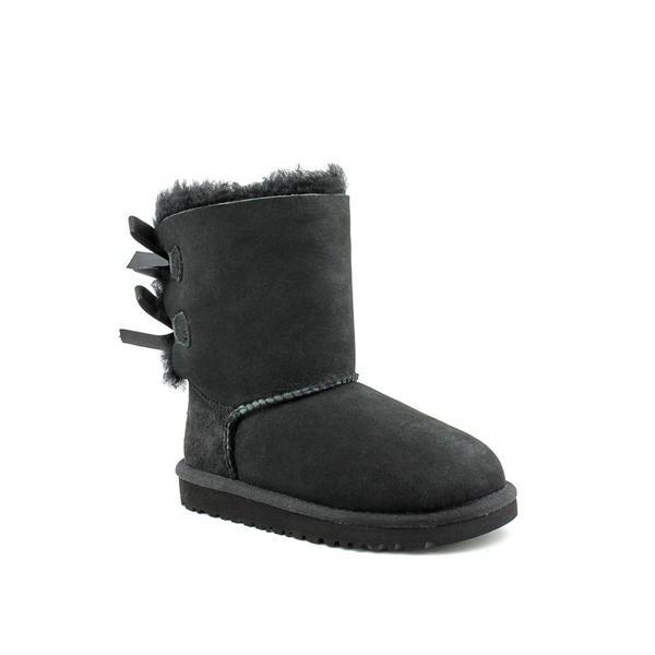 Ugg Australia Girl's 'Bailey Bow' Regular Suede Boots