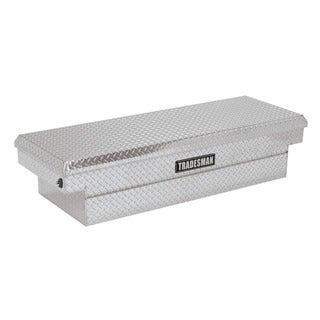 Tradesman 60-inch Aluminum Push Button Cross Bed Truck Tool Box