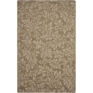 Safavieh Handmade Fern Scrolls Brown New Zealand Wool Rug (3' x 5')