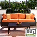 RST Outdoor Tikka Sofa and Coffee Table Set Patio Furniture