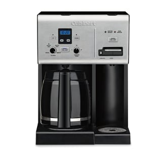 Cuisinart CBCW-24 Coffee Plus 12-Cup Programmable Coffee Maker (Refurbished)