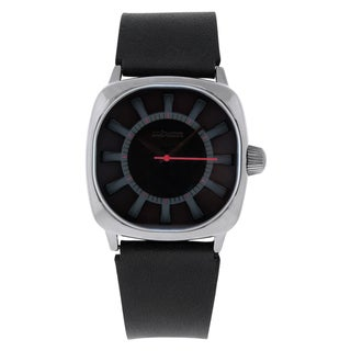 Nixon Men's Revolver Leather Strap Watch
