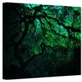 John Black ' Japanese Dark Tree' Gallery Wrapped Canvas