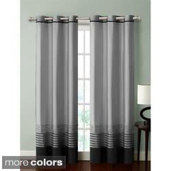 VCNY Boston Chenille Grommet 84-inch Curtain Panel