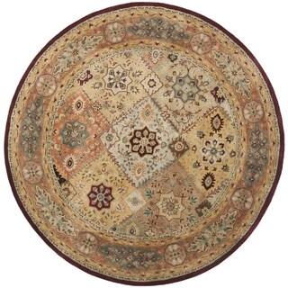 Safavieh Handmade Persian Legend Diamonds Multi/ Rust N.Z. Wool Rug (8'3 x 11')