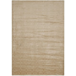 Safavieh Hand-knotted Mirage Campagne Bronze Viscose Rug (8' x 10')