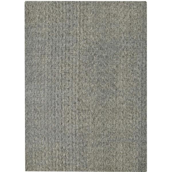 Safavieh Hand-knotted Mirage Slate Grey Viscose Rug (6' x 9')
