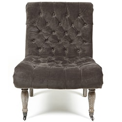 Kosas Home Duchess Warm Grey Accent Chair
