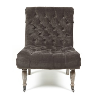 Duchess Warm Grey Accent Chair