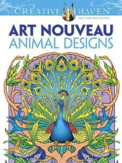 Art Nouveau Animal Designs (Paperback)
