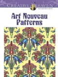 Art Nouveau Patterns (Paperback)