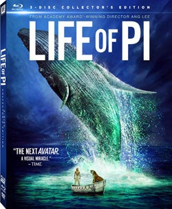 Life of Pi 3D (Collector's Edition) (Blu-ray/DVD)